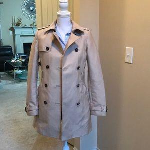 Zara Trench Coat - preowned -size XS